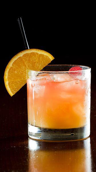 The Mash Up: 1½ oz Smirnoff Raspberry Vodka, 3 oz cranberry juice, ¼ oz orange juice, 1 each, orange slice and raspberry. Combine first three ingredients in a rocks glass filled with ice; stir gently. Garnish with orange slice and raspberry.