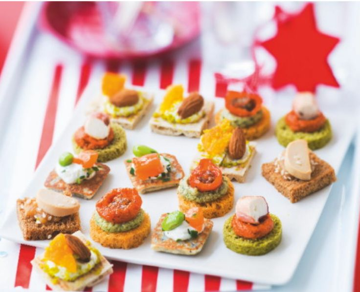 75 best images about les ap ritifs festifs on pinterest for Canape foie gras