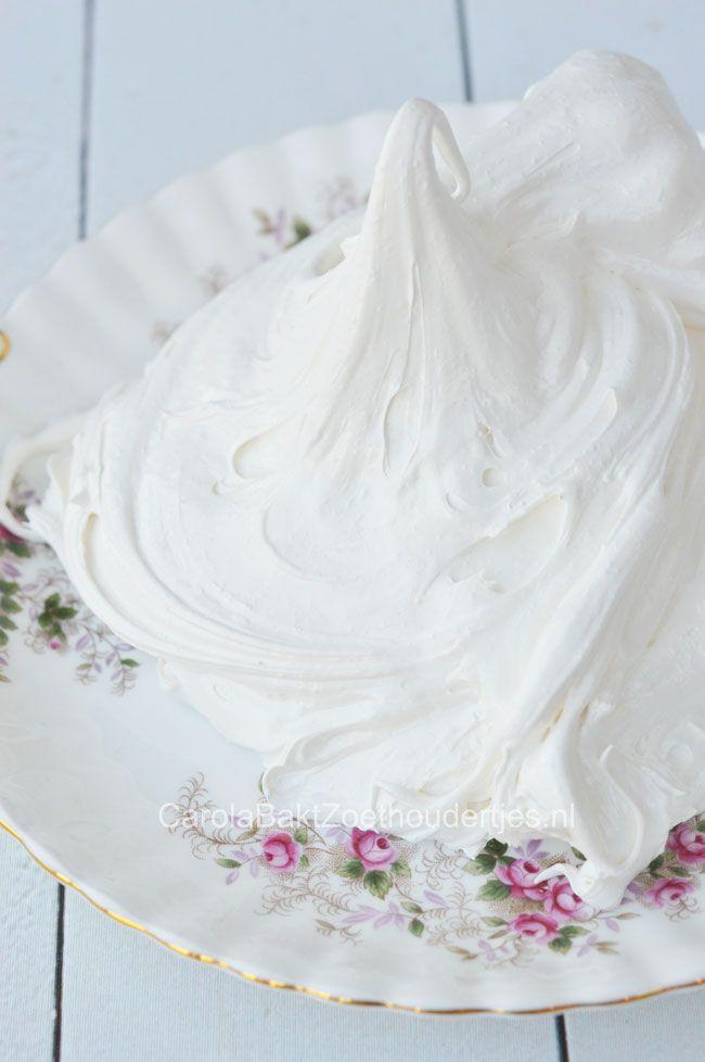 Marshmallow fluff - Carola Bakt Zoethoudertjes