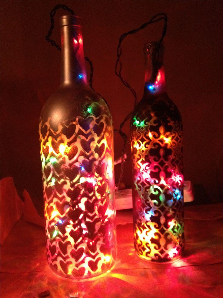My wine bottle craft Wine bottles