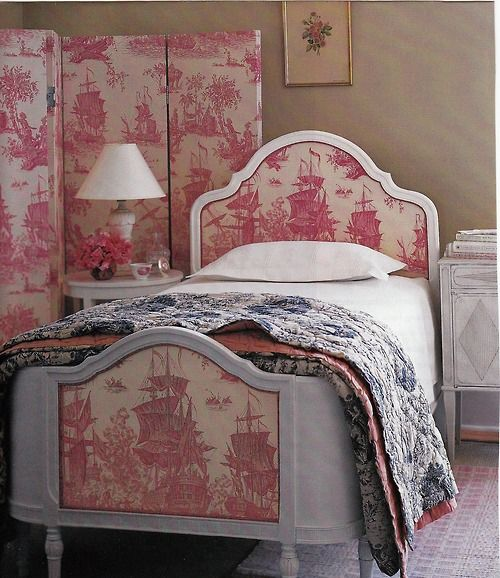 Bedroom Decorating Ideas Totally Toile: 1774 Best Toile De Jouy Images On Pinterest
