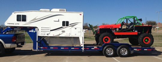 Rick Spigelmyer tells us how he decided to load a 2012 Travel Lite 890RX truck camper onto a gooseneck trailer to go rock crawling.