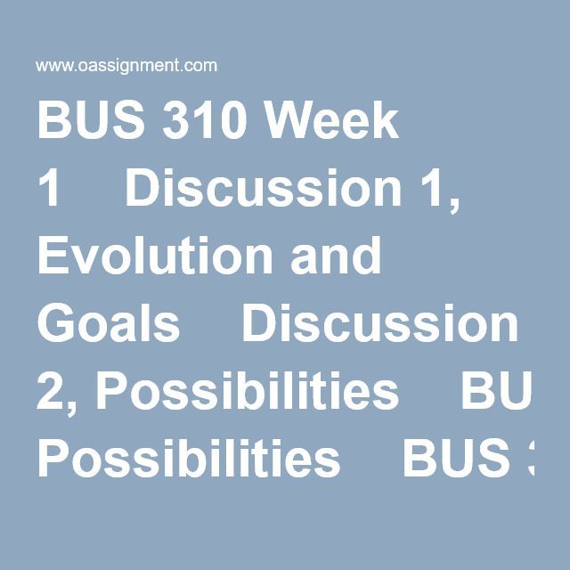 BUS 520 BUS520 Complete Course
