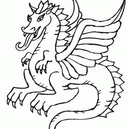dudley the dragon coloring pages - photo#3