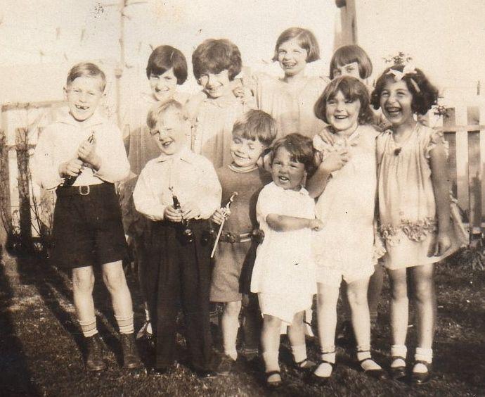 Vintage Kids Fashion, Kids