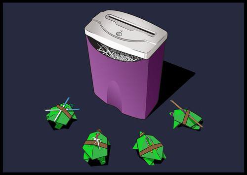 Turtles vs Shredder