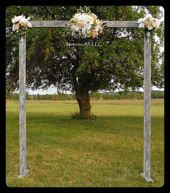 71 best complete rustic wedding arches kits images on pinterest wedding archwedding arborrustic wedding archcomplete kit indoors or outdoorscountry wedding backdropweatherd grayshipping included junglespirit Choice Image