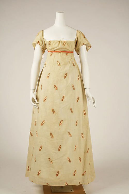Dress    1810s    The Metropolitan Museum of Art