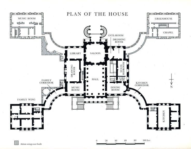 mansion courtyard blueprint google search floorplans