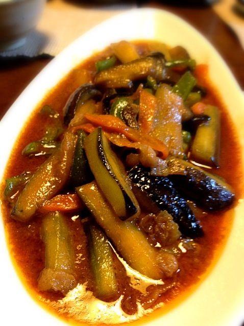 お味噌とコチュジャンがちょうどいい味を出してくれますご飯がすすむ、すすむ! - 5件のもぐもぐ - ナスの中華風味噌炒め by かな