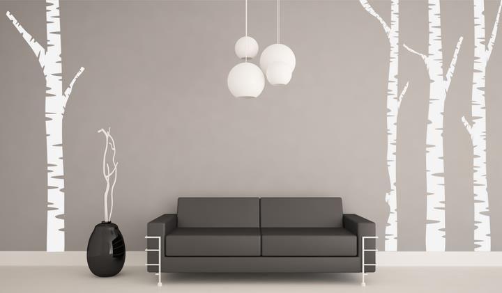 (3224n) Nálepky na stenu - Stromy   ARTSABLONY.SK