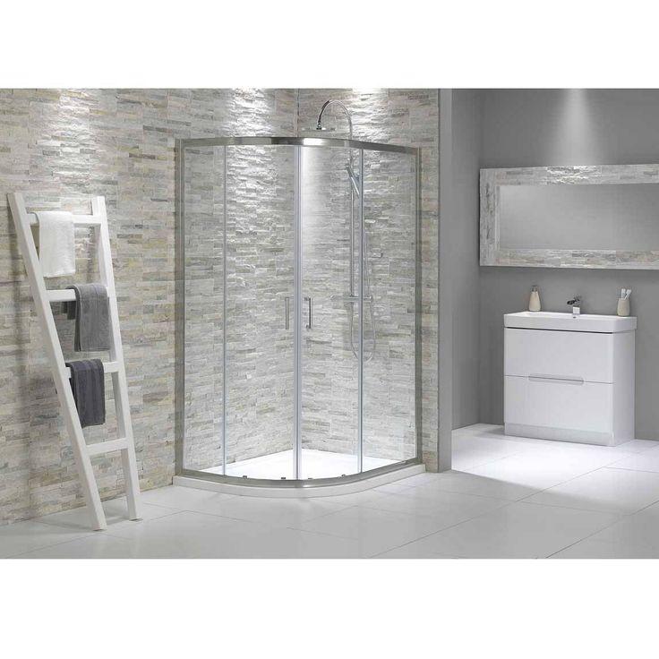 V6 Quadrant Offset Shower Enclosure 1000 X 800