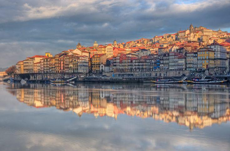 Porto sunrise, Portugal