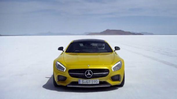 Nouvelle Mercedes-AMG GT 2015