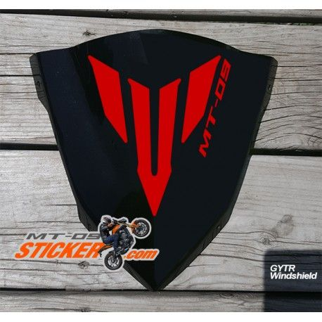 Now in stock ! Yamaha MT-09 GYTR Windscreen sticker decal graphic kit. Many…