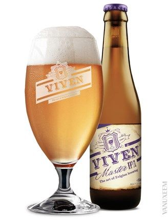 Viven Master IPA ♦ Pours golden with medium head. Medium carbonation. Nice mouthfeeling but not very special.