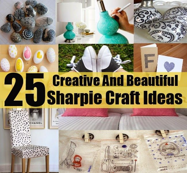 25 Easy And Creative Sharpie Crafts