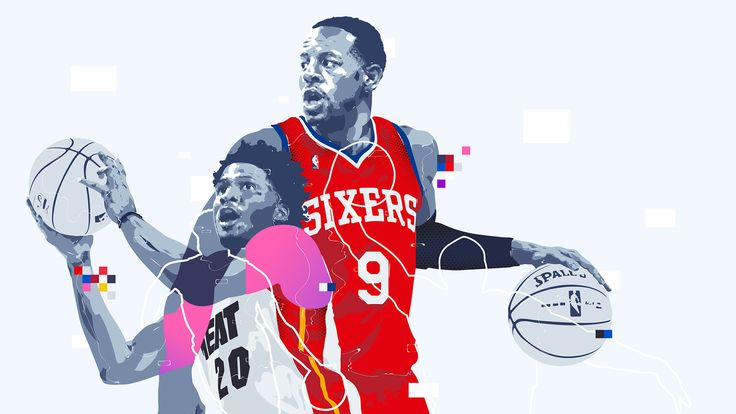NBA Mirror images, Superstars Then And Now by Bram Vanhaeren for Bleacher Report Media lab.