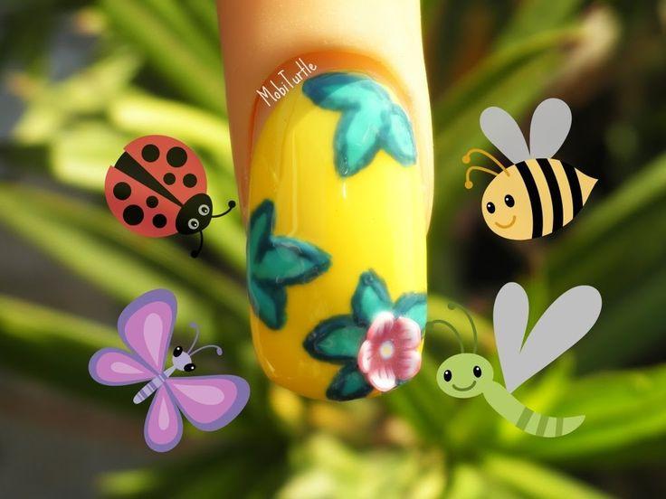 Mejores 122 imágenes de Nail Art Tutorials and Designs Gallery en ...
