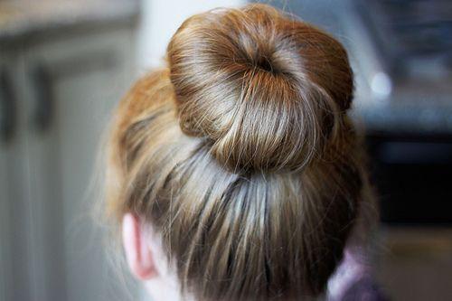 bun: Hair Down, Hair Colors, Hair Style, Socks Buns, Hair Sticks, Ballet Buns, Ballerinas Buns, Hair Buns, Perfect Buns