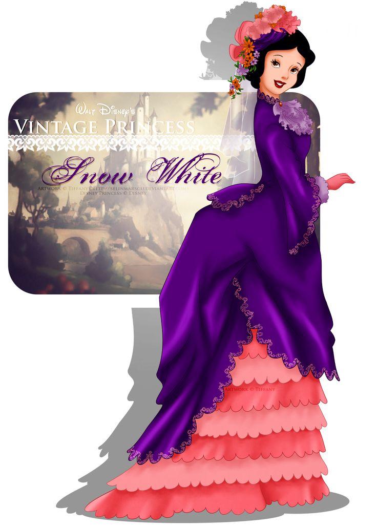 Vintage Princess -Snow White by selinmarsou.deviantart.com on @deviantART
