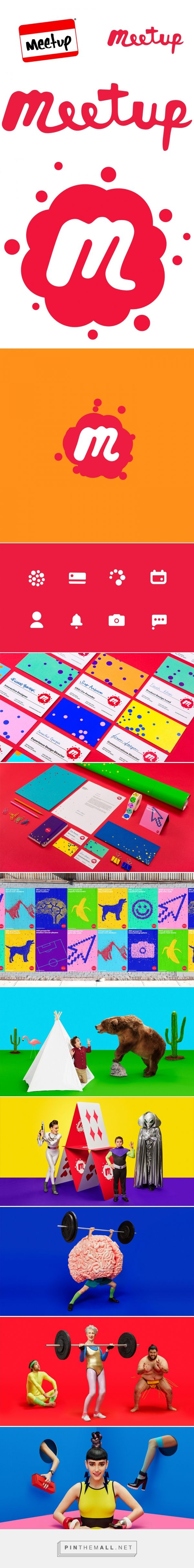 Brand New: New Logo and Identity for Meetup by Sagmeister & Walsh... - a grouped images picture - Pin Them All