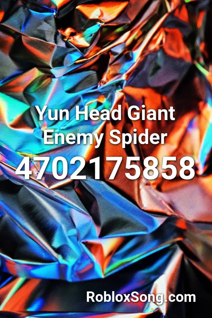 Yun Head Giant Enemy Spider Roblox Id Roblox Music Codes Songs Roblox Circus Music Видео the giant enemy spider канала derewah. yun head giant enemy spider roblox id