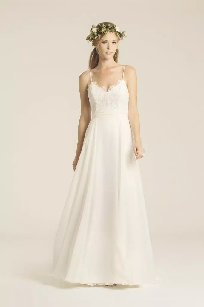 50 best designer amy kuschel images on pinterest short for Plus size wedding dresses cleveland ohio