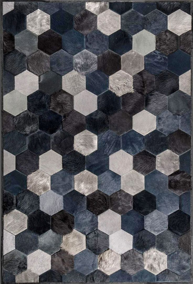 6 Stylish Hair On Hide Rugs From Kyle Bunting San