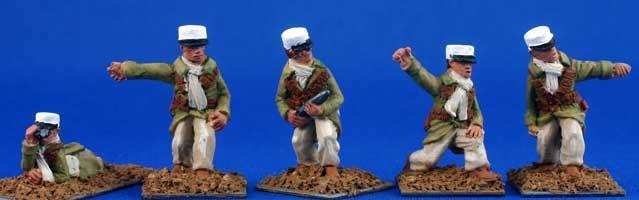 Foreign Legion Saharienne Artillery Crew