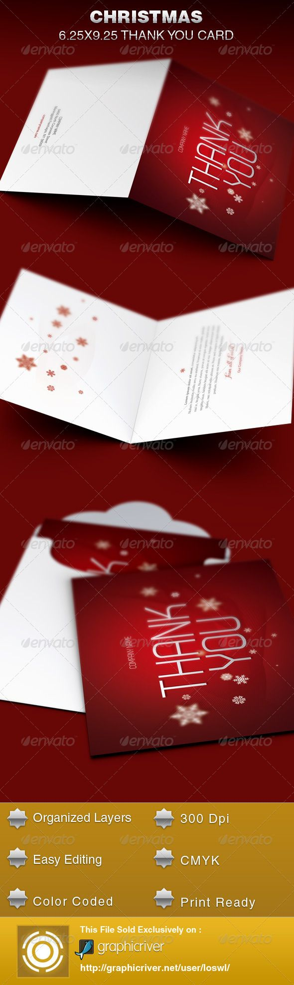 17 best images about print templates fonts flyer christmas thank you card template