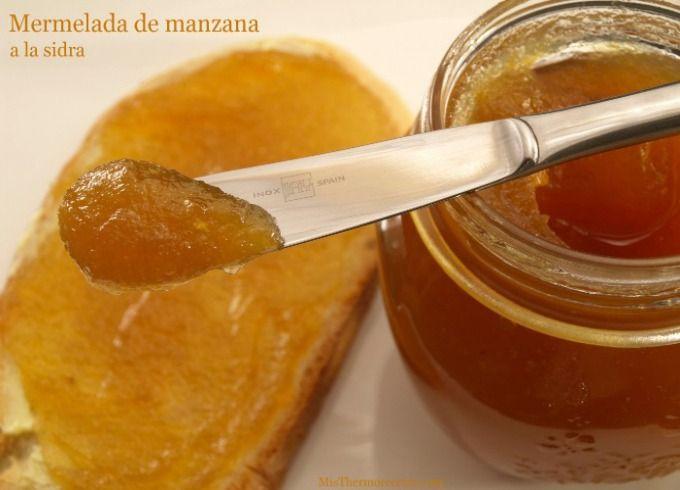Mermelada de manzana a la sidra - MisThermorecetas.com