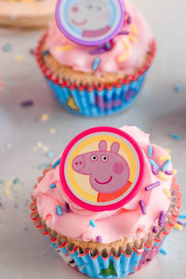 Peppa pig cupcake decorating kit peppa pig
