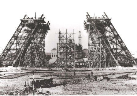 First Stages of Construction 1887
