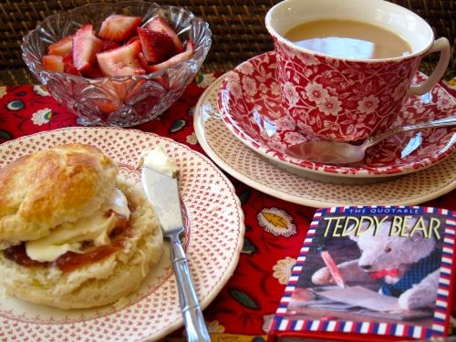friday feast: happiness is a may sarton poem and a cream scone | Jama's Alphabet Soup