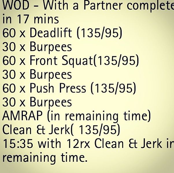 Crossfit Workout Routines: 11 Best Team/pairs Crossfit Wods Images On Pinterest