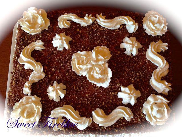 """Sweet Fireblue: La torta con """"camy cream"""" alla nutella"""