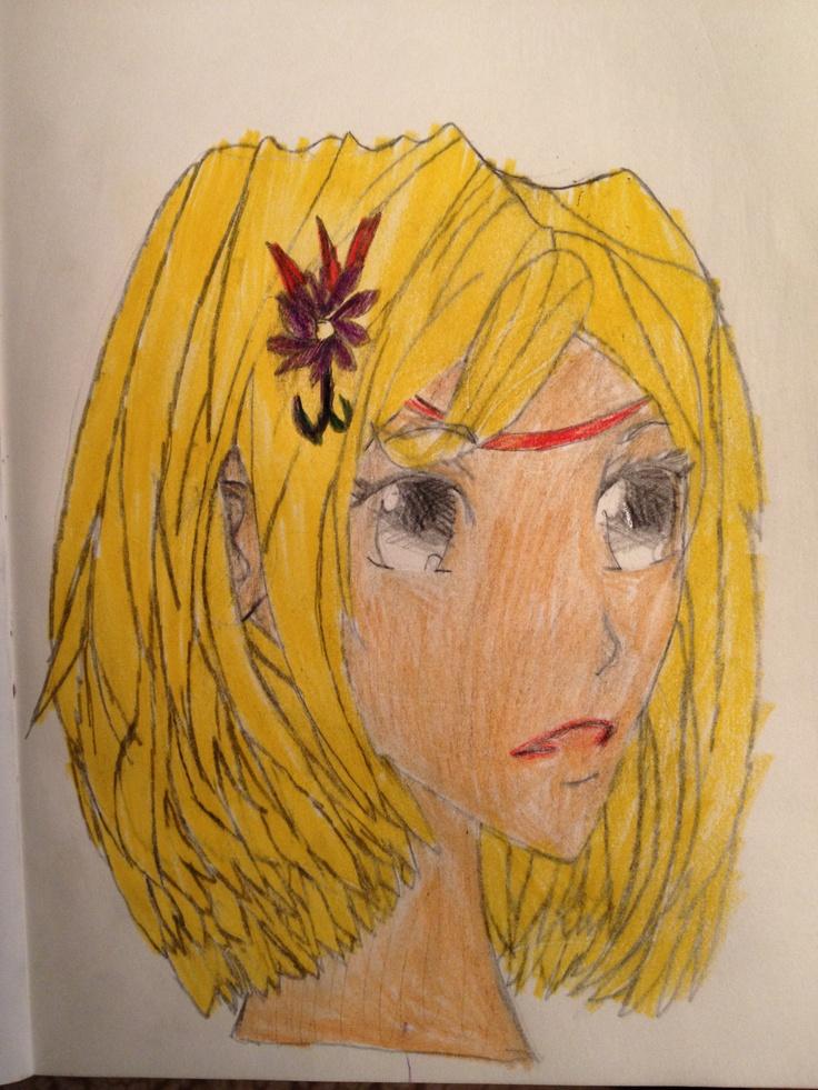 Manga-jente fra siden. Jonatan 16/10 2012.