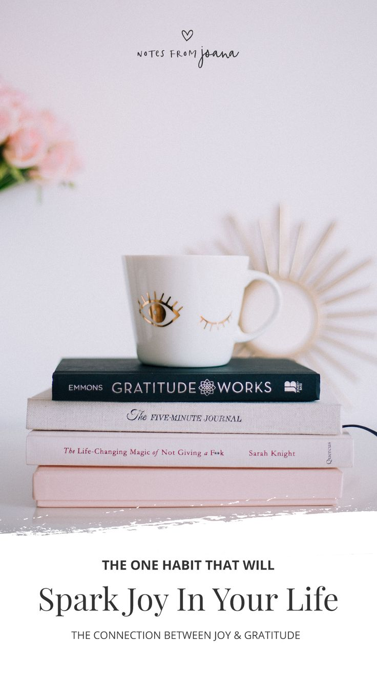 The One Habit That Will Spark Joy In Your Life. Gratitude Practice. Wellness // Notes from Joana