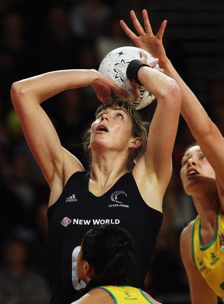 NZ Netballer Irene van Dyke...the reason I like netball