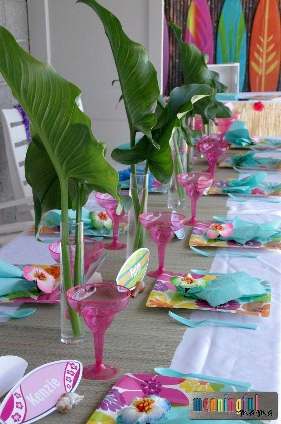 25 einzigartige hawaii party dekorationen ideen auf pinterest hawaii party getr nke luau. Black Bedroom Furniture Sets. Home Design Ideas