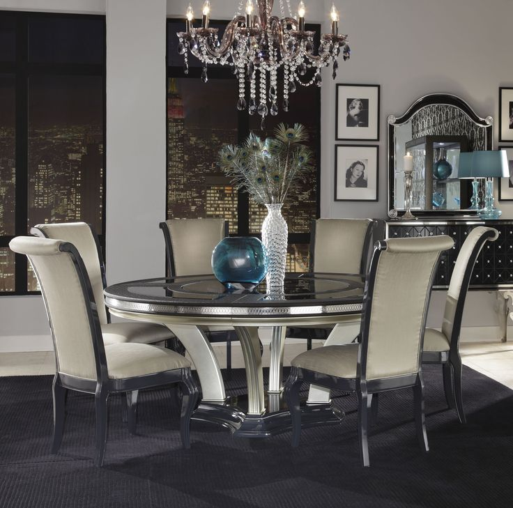 Best 25+ Round Dining Room Sets Ideas Only On Pinterest   Formal .