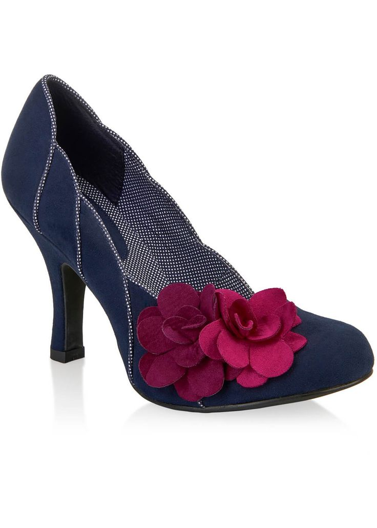 Ruby Shoo April Pumps Donkerblauw