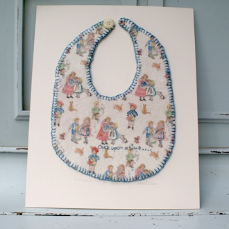 Once Upon a Time mounted bib