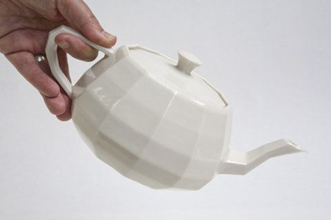 Unfold - Projects - Utanalog, Ceramic Utah Teapot