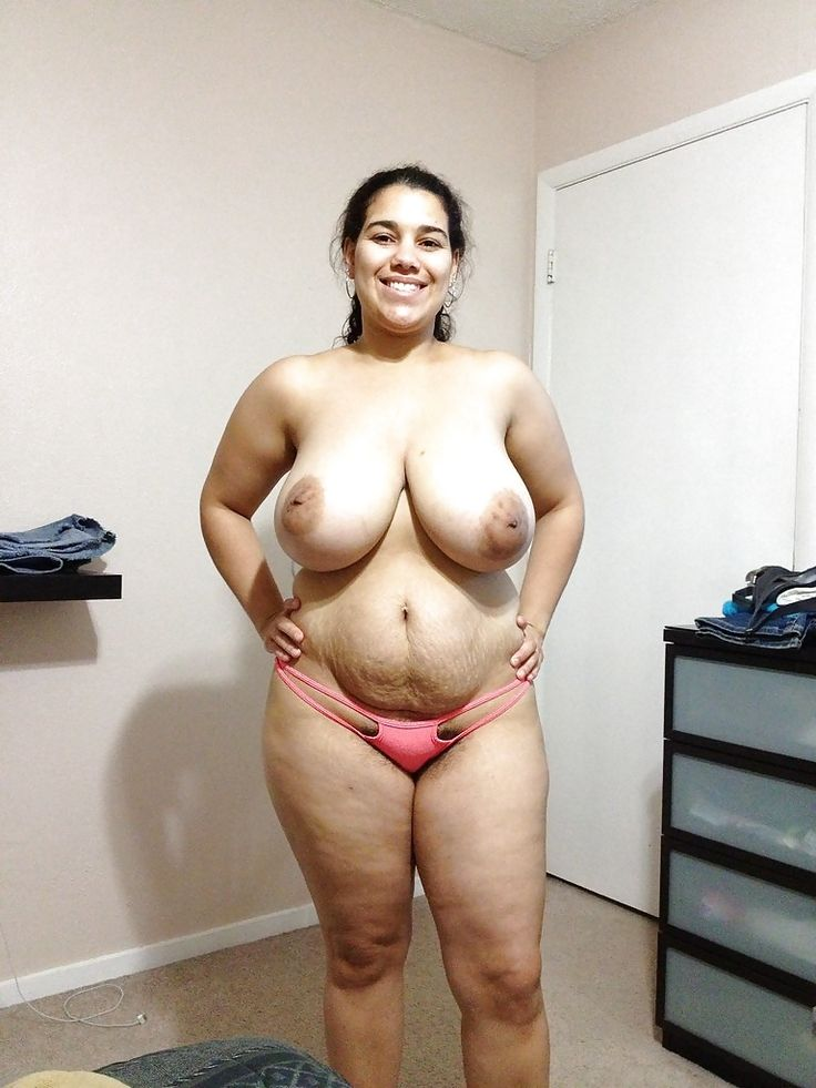 Latina Big Tits Strip Tease