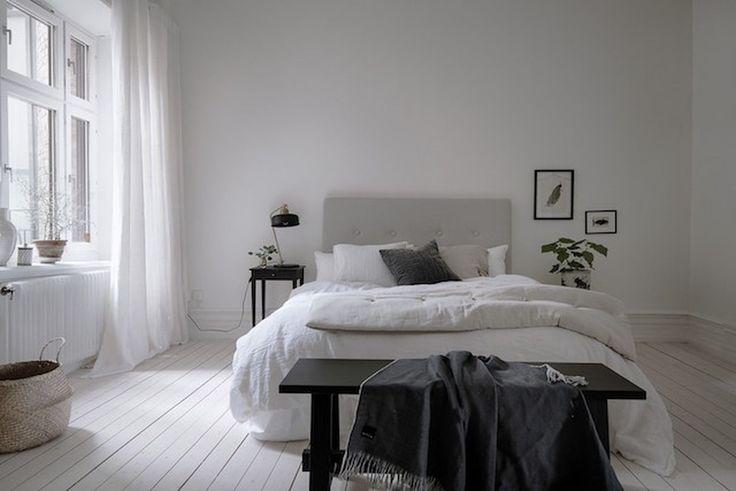 Cool 88 Simple Swedish Bedroom Decor Ideas. More at http://www.88homedecor.com/2017/09/11/88-simple-swedish-bedroom-decor-ideas/