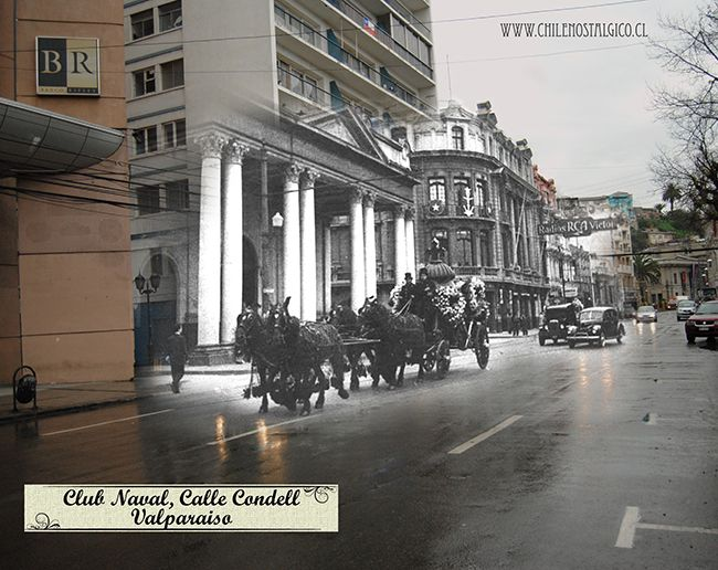Club Naval, Calle Condell