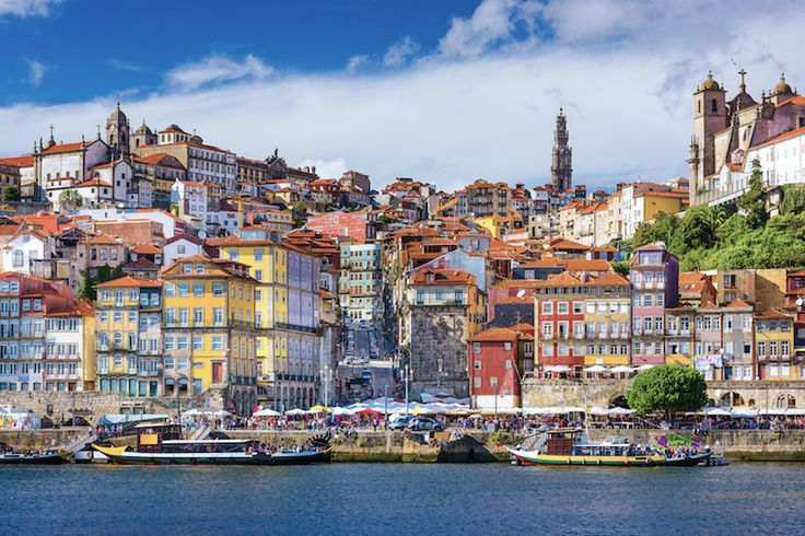 Porto. World famous for its production of fine port wine, the busy city of Porto sprawls along the hills overlooking the Douro River in northern Portugal, prized for both its natural and architectural beauty.