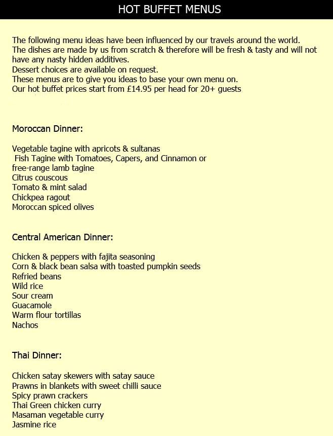 25+ best Catering menu ideas on Pinterest | Catering companies ...